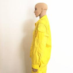 Stock Orange Vêtements de travail de sécurité réfléchissant de protection incendie