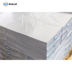 Impression haute qualité de l'argent Inkjet Polyester PVC Feuille de plastique pour la fabrication de cartes de visite