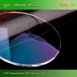 China mercadoria 1,59 PC Lentes de policarbonato de material de revestimento de Ar