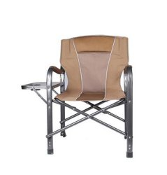 Direttore piegante di campeggio Chair del bracciolo esterno con la Tabella Brown