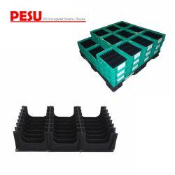 Boîte antistatique pour le stockage des conteneurs en plastique et de bacs antistatique