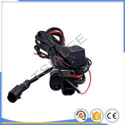 Auto on/off Le faisceau de câblage de l'interrupteur à bascule 12V 40A Relais Feu de brouillard LED Moto barre LED sur le fil