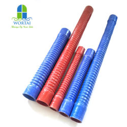 Câble flexible en acier renforcé tuyau flexible en silicone tube en caoutchouc