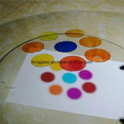 Освещения сцены объектив оптическое стекло цветной фильтр для Stagelight проектор