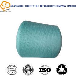 100% polyester filé Thread 62/2/3 filetage de la qualité des fibres de polyester