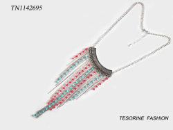 Regalo de la mujer popular diseño de moda collar multicolor