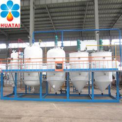 محطة تكرير الزيت النباتي المستمرة ماكينة تكرير الزيت