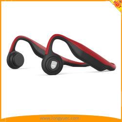 Bluetooth 4.2가 탑재된 골전도 스포츠 헤드폰으로 러닝에 땀방수 기능을 제공합니다 (적색)