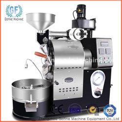 آلة تحضير القهوة مع حبوب الفاصوليا Roaster سعة 1 كجم/3 كجم/6 كجم غاز وتدفئة كهربائية ماكينة إعداد القهوة