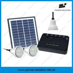 4W 8W do Sistema de Iluminação Doméstica Solar com 1 W e 2 W homologadas