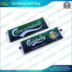 Подарки для спорта прокрутка баннеров вентилятора рукой флаг (M-NF35P09003)