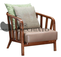 Maison moderne en bois tissu Relax Président