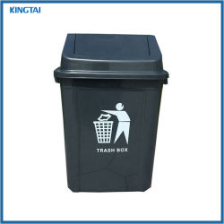 Высокое качество корзину 40L пластиковый лоток домашнего Dustbins мусора