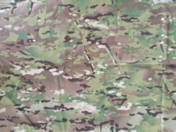 Wr nylon impermeable algodón tejido camuflaje Rip-Stop