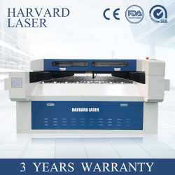 La gravure de l'équipement de découpe laser pour le tissu/textile/Cloth//Verre plastique