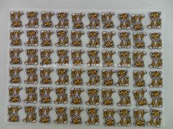 Regalos promocionales regalo bordados parches bordados Selfadhesive Pegatina Escudo