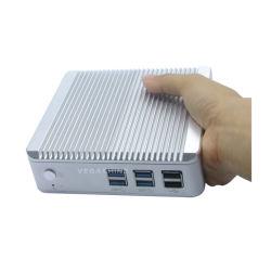 USB 3.0, 2 USB2.0 de la PC 4 de Nuc Fanless de la Palma-Talla de I3-4010u mini con WiFi Bluetooth