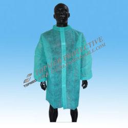Uniform de la ropa de los vestidos médicos de papel del doctor quirúrgico