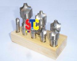 L'acier à haute vitesse (HSS) Arrondissage des coins fin Mills