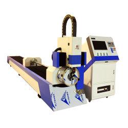 La Chine de la Fabrication de matériel de métal mince de l'équipement de découpe laser à fibre pour la coupe de tuyaux en métal