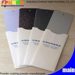 Pulverbeschichtung Aus Reinem Polyester-Aluminium In Außenbereichen Mit Farbeffekt