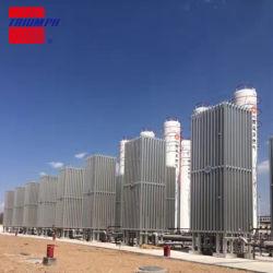 Flüssiger Stickstoff-Luftumgebender Vaporizer-industrieller LuftVaporizer