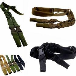 2 Point Tactique FUSIL élingue Sangle élastique de la courroie Stealth pistolet