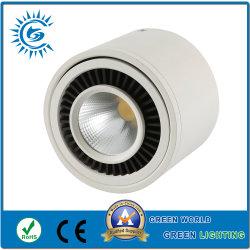 80-90 l/W Aluminium mit weißer Led-Downlight Für Oberflächenmontage