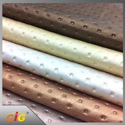 Cuoio sintetico impresso 100% della sede di automobile dell'unità di elaborazione del PVC della sede di automobile