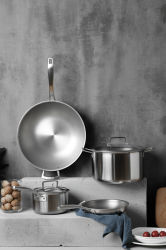 De titanio de alta calidad Aparato de Cocina de acero inoxidable en stock