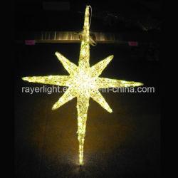 De reusachtige Hangende Decoratie van Kerstmis van Topper van de Kerstboom