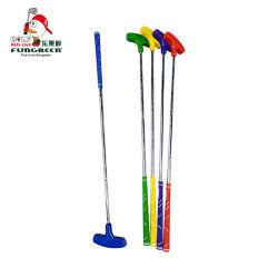 Cabeça de borracha coloridas Fungreen fabricante Kids Golf Clubes Putter