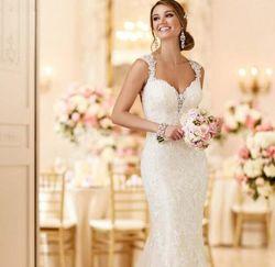Nouveau Style sexy fashion Slim en queue de poisson en dentelle robe de mariée