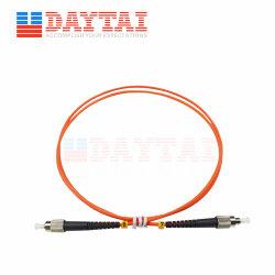 FC PC à PC Connecteur Simplex mm FC multimode OM1 Om2 Câble de pontage cordon de raccordement à fibre optique