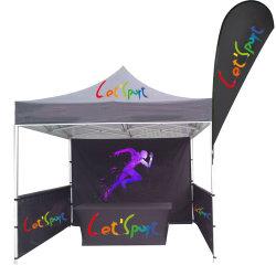 خيمة عرض تجاري مخصص يتم طيه مع مظلة شاطئ
