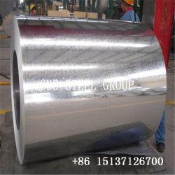Grand Spangle Rouleau en acier trempé à chaud de zinc/fer galvanisé Feuille simple