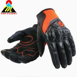Подлинной Cowhide кожаные перчатки мотоциклов мотоцикл на лошадях средства индивидуальной защиты перчатки с сенсорным экраном
