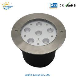 IP67 6W 12W 18W 24W Inground LED Lampe à LED enterré voyant LED de plein air d'éclairage voie jusqu'Lampe à LED lumière LED RVB de paysage de coin de la lumière avec ce RoHS