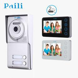 Villa interphone vidéo 2 fils sonnette/Intercom/Door Phone