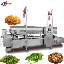 Bola de carne de pollo Freidora Máquina de freír el procesamiento de alimentos Snack maquinaria