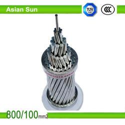 Conducteur ACSR utilisé comme frais généraux de la transmission nue