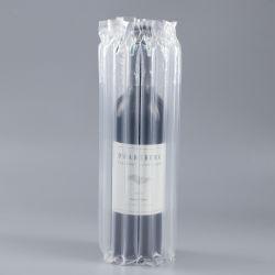 Coluna garrafa de vinho/leite em pó desnatado de ar do protector de acondicionamento plástico bolha