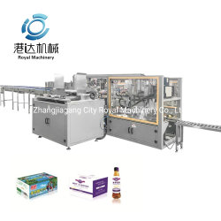 Carotn自動ボックスDynateの熱い接着剤のシーリングシステムが付いているラップアラウンドの箱の包装業者機械パッキング機械装置