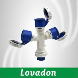 16A 10132 de protección IP67 Resistente al agua Toma Enchufe Industrial hembra macho y hembra multifunción