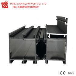 Алюминиевый профиль алюминиевый профиль для оконной системы со звуком и теплоизоляция Thermal перерыв