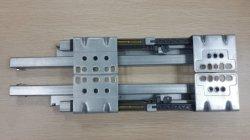 Cierre suave caja metálica de pared doble cajón portaobjetos con solo tubo