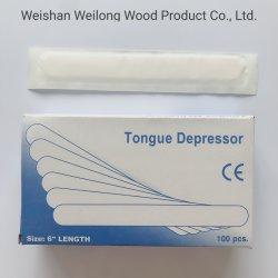 Desechables personalizada especial de la lengua de madera depresor
