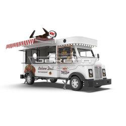 شاحنة الطعام الكهربائية JeKeen مع سجيج آلة الوجبات الخفيفة