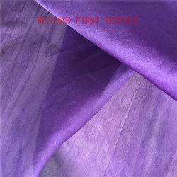 Face de cetim Organza de seda