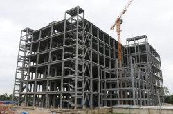 Magazzino/gruppo di lavoro/fabbrica d'acciaio Multi-Storey dell'edificio per uffici di basso costo con la struttura d'acciaio